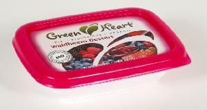 Green Heart Waldbeer Dessert