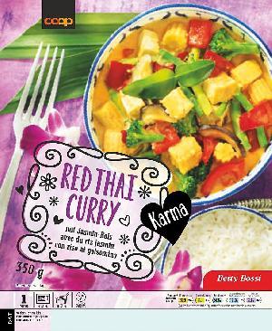 Karma Red Thai Curry mit Jasminreis