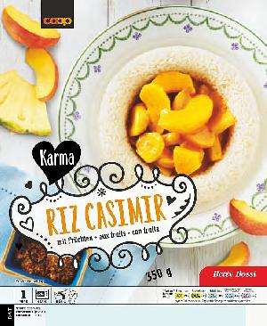 Karma Riz Casimir mit Früchten