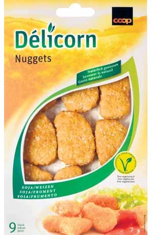 Vegetarische Nuggets