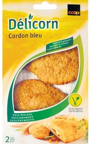 Vegetarisches Cordon Bleu