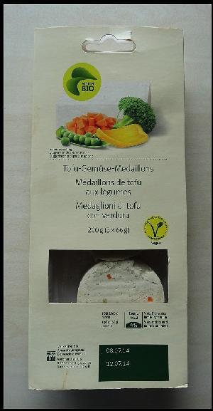 Tofu-Gemüse-Medaillons