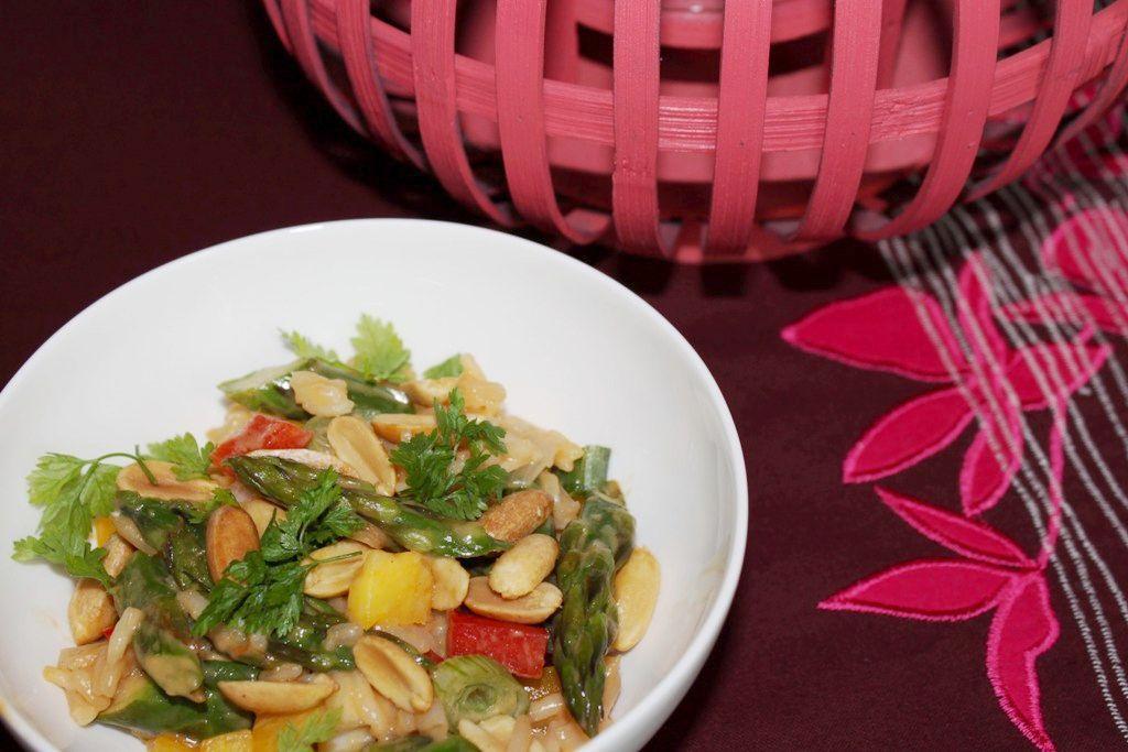 Salade de riz Asia